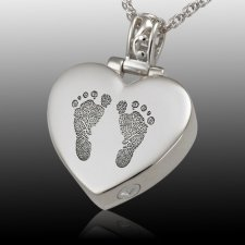 Lovely Heart Cremation Print Keepsakes