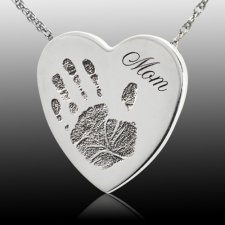 Loving Heart Cremation Print Keepsakes
