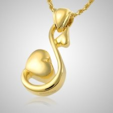 Loving Hearts Cremation Pendant II