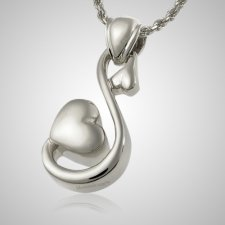 Loving Hearts Cremation Pendant