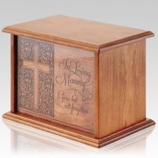 Loving Memory Wood Urns
