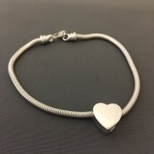 Loyal Heart Cremation Bracelet