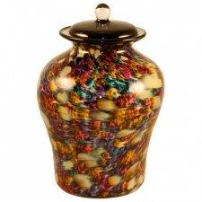 Luminous Glass Cremation Urn