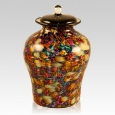 Luminous Glass Cremation Urn