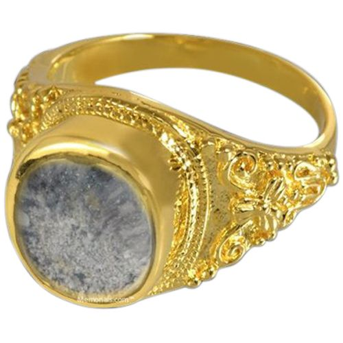 Lunette Cremation Ring II