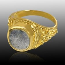 Lunette Cremation Ring IV