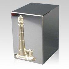 Lustro Cape & Coast Steel Urn