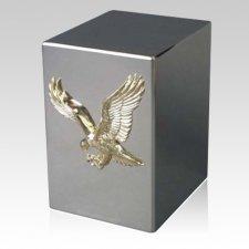 Lustro Honor Steel Urn