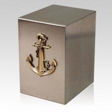 Lustro Nautical Steel Urn