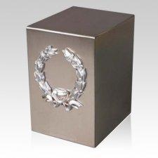 Lustro Peace Steel Urn