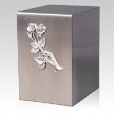 Lustro Remembrance Steel Urn