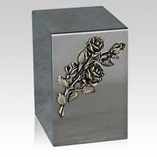 Lustro Rose Steel Urn