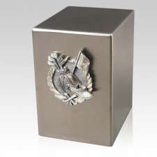 Lustro Tee Time Steel Urn