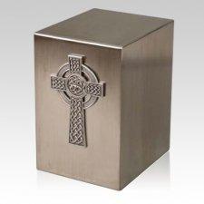 Lustro Viking Cross Steel Urn
