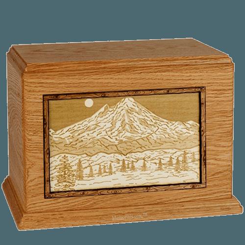 Mt Baker Mahogany Companion Urn