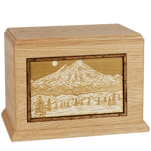 Mt Baker Maple Companion Urn