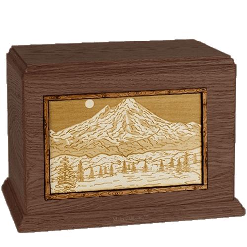 Mt Baker Walnut Companion Urn