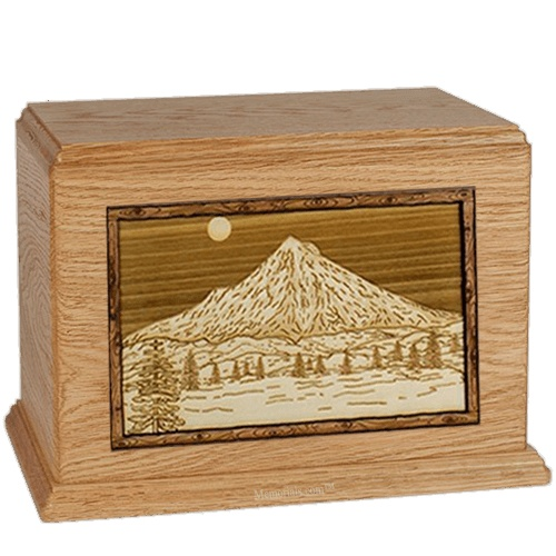 Mt Hood Oak Companion Urn