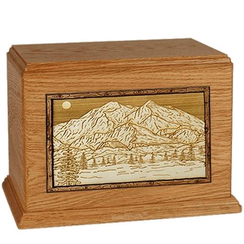 Mt McKinley Mahogany Companion Urn