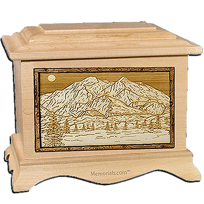 Mt Mckinley Maple Cremation Urn For Two