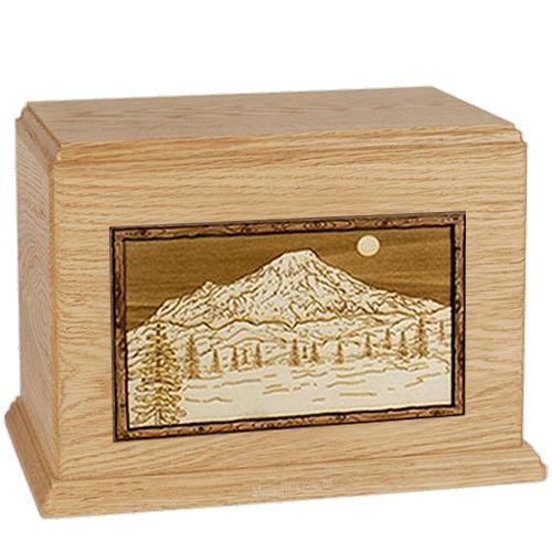 Mt Rainer Maple Companion Urn