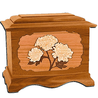 Mums Mahogany Cremation Urn for Two