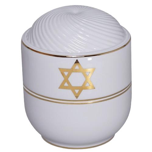 Magen David Religious Cremation Urn