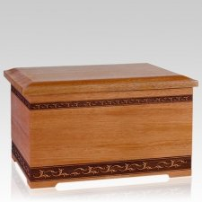 Mahogany Memory Chest Cremation Urn