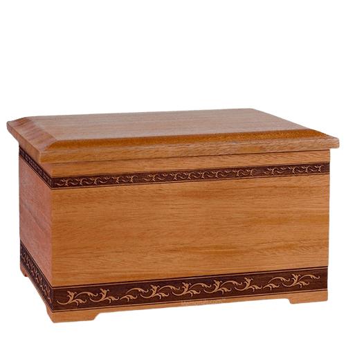 Mahogany Memory Chest Cremation Urn