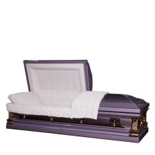 Majesty Steel Casket