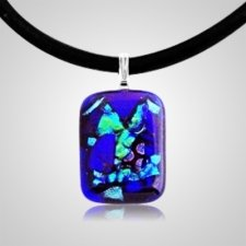 Make Your Own Dichroic Rectangle Ash Pendant