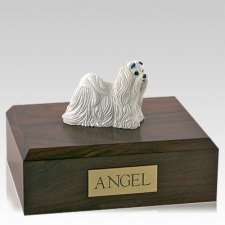 Maltese Walking Dog Urns