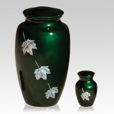 Maple Leaves Cremation Urns