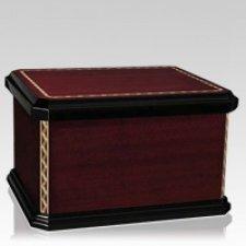 Mariachi Wood Cremation Urn