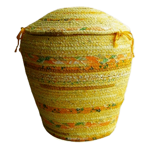 Marigold Cotton Cremation Urn