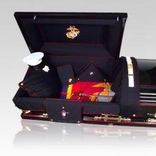 Marine Military Burial Casket