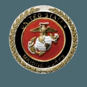 Marines Cast Medallion Appliques