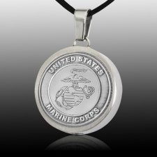 Navy Cremation Pendant