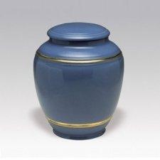 Maritime Porcelain Cremation Urn
