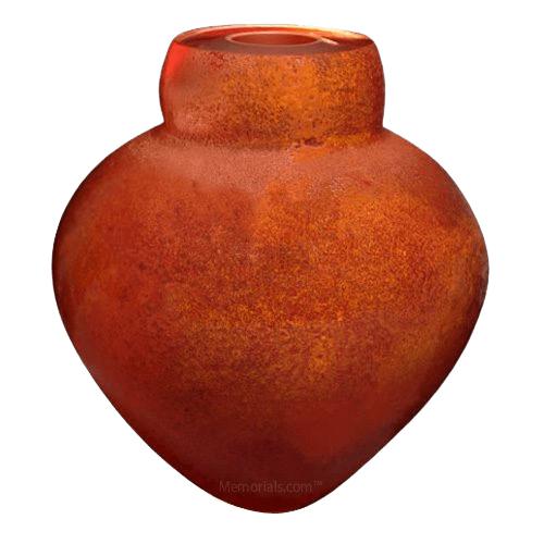 Mars Glass Cremation Urn