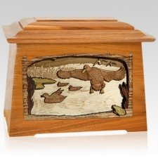 Marshland Melody Mahogany Aristocrat Cremation Urn
