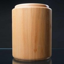 Masterly Wood Cremation Urn