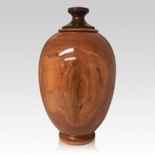 Masterpiece Wood Cremation Urn