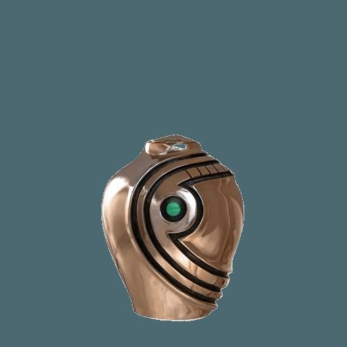 Matador Malachite Bronze Keepsake Urn