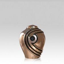 Matador Obsidian Bronze Keepsake Urn