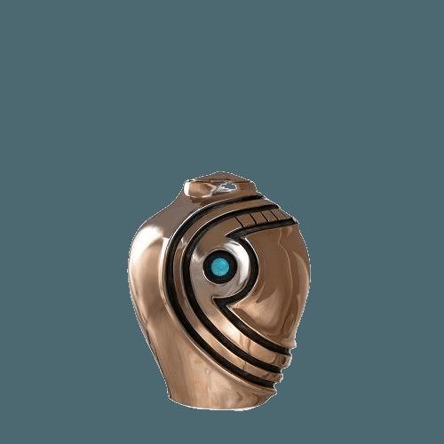 Matador Turquoise Bronze Keepsake Urn