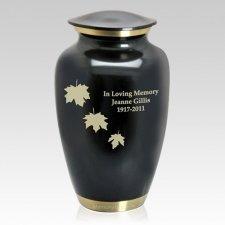 Matte & Gold Cremation Urn