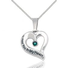 May Heart Keepsake Jewelry