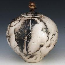 Mayan Cremation Urn