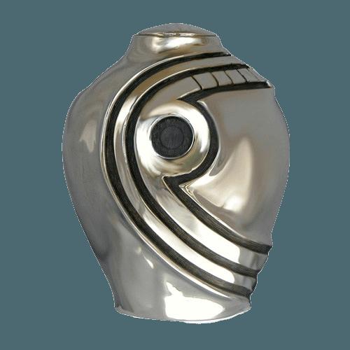 Mayan Obsidian Bronze Funeral Urn